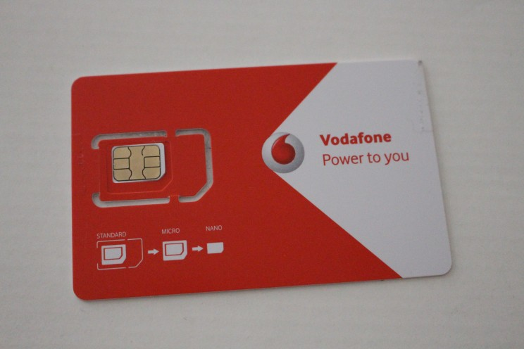 Cartao Vodafone