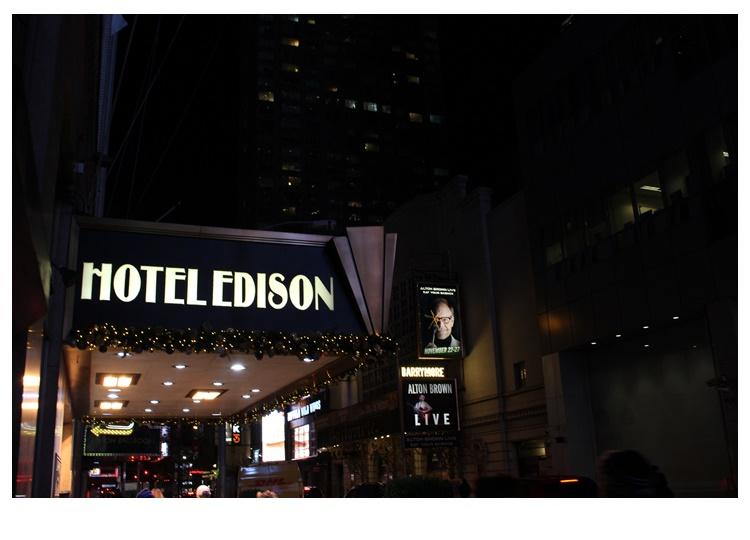 Hotel Edison em NY