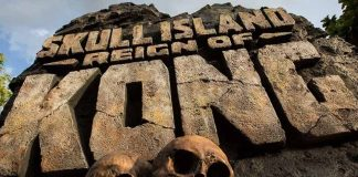 Entrada da Skull Island- Reign of Kong