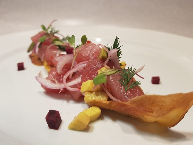 Rio Restaurante Week: Almoço no JW Marriot Rio de Janeiro Tartar de atum