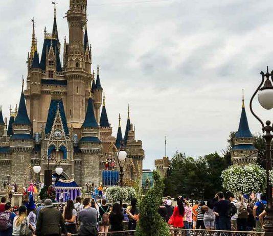 Parque Magic Kingdom em Orlando