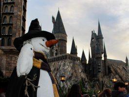 Boneco de Neve em Hogwarts
