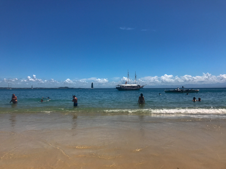 Praia da Ferradura em Búzios