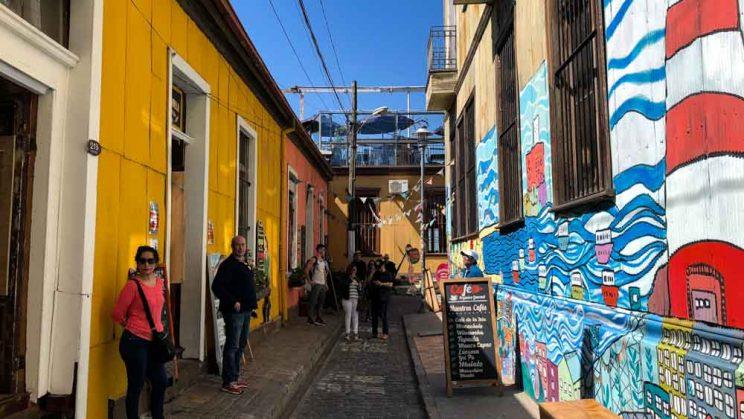 ruas de Viña del Mar