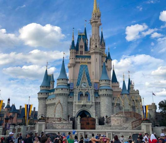 castelo magic kingdom - parques da Disney Orlando
